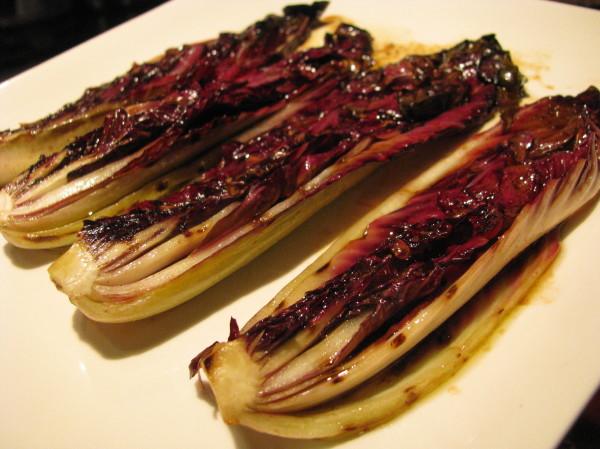 Grilled Portobello And Radicchio Salad Recipe — Dishmaps
