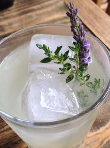 Lavender thyme lemonade t